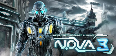 N.O.V.A. 3 1.0.7 Apk Mod Full Version Data Files Download Unlimited Gold Coins-iANDROID Games