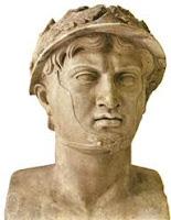 Busto rey Pirro de Epiro