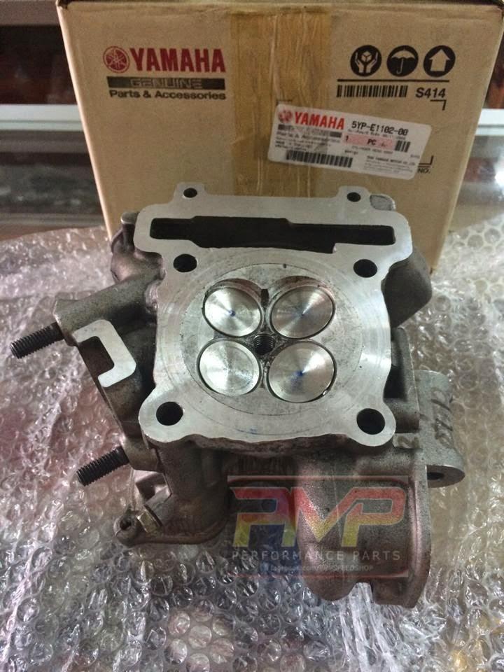 Pmp Cylinder Head 28  26 Yamaha Lc135    Crypton X135