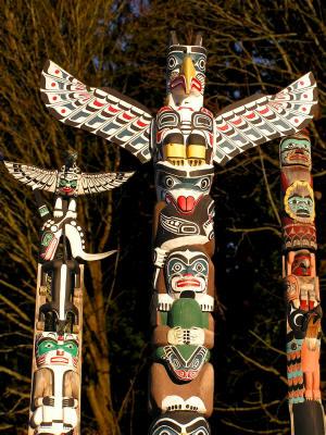 Alphabet et images Totem
