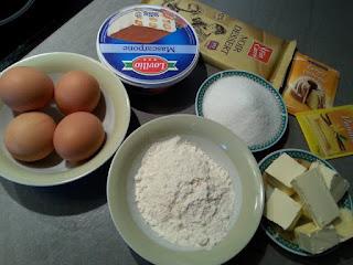 طريقة تحضير كيكة بالشكلاط وجبن ماسكربون