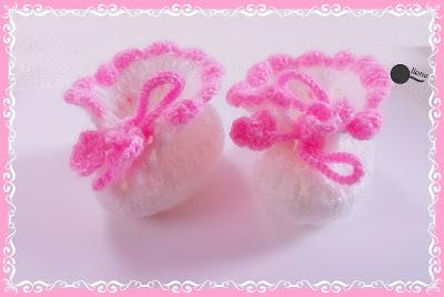Miniaturowe papucie po raz drugi:)
