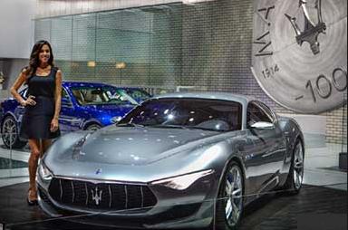 Maserati al salone dell'auto di Los Angeles