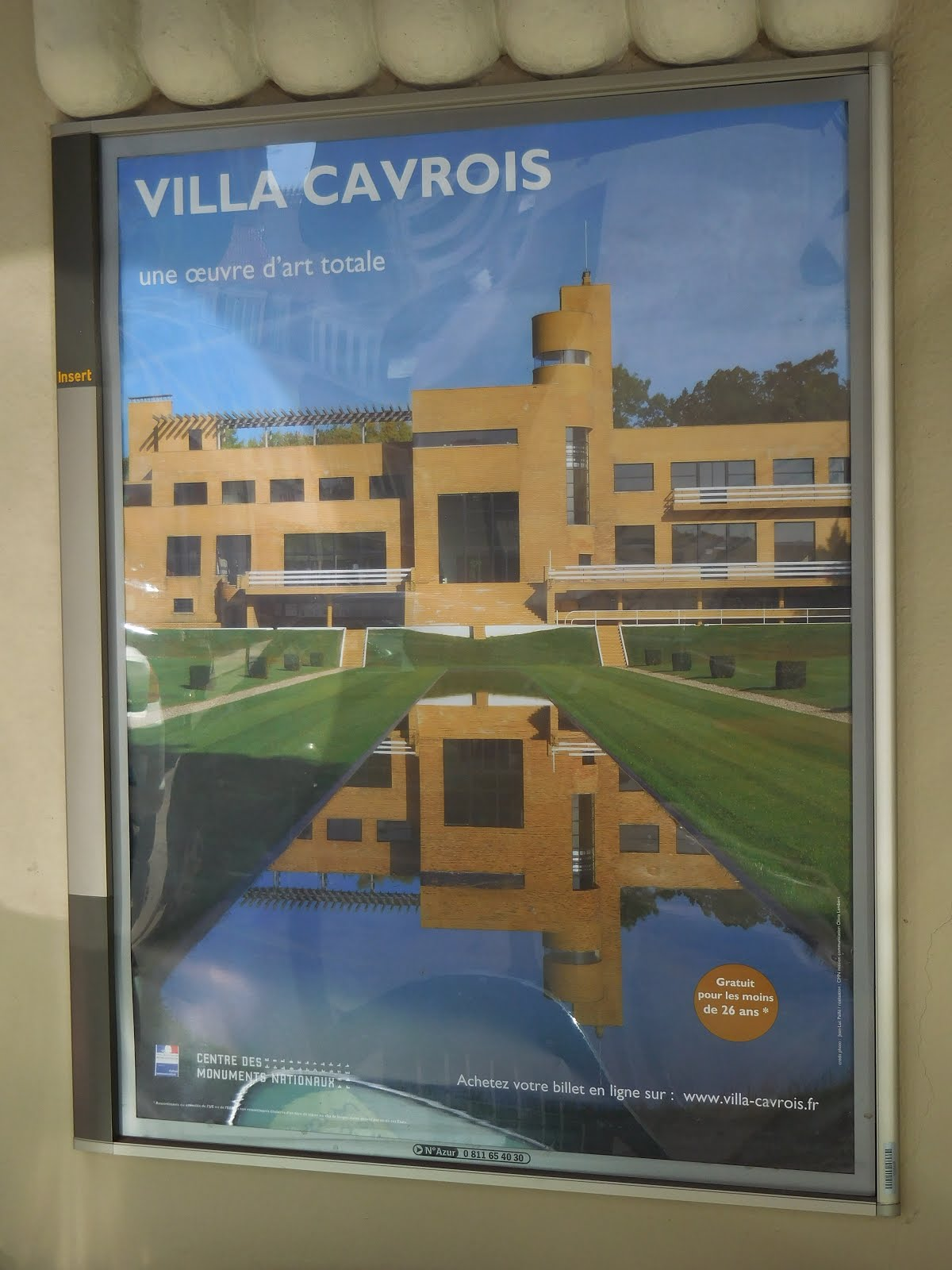La Villa Cavrois s'affiche