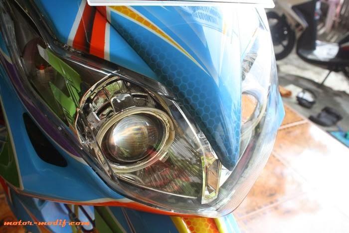 Gambar Modif Yamaha Xeon Airbrush