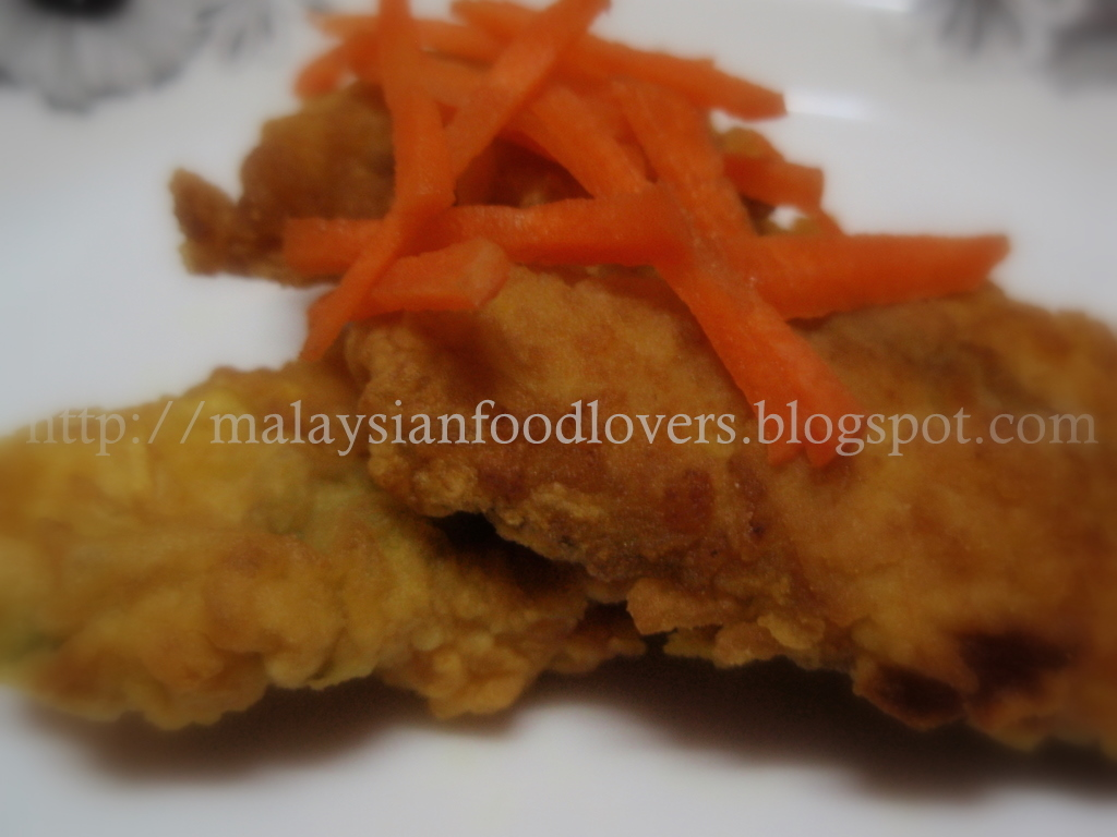 Flavours of asia fried fish fillet for Fried fish fillet