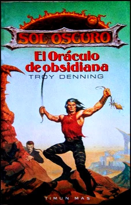 El oráculo de obsidiana de Troy Denning