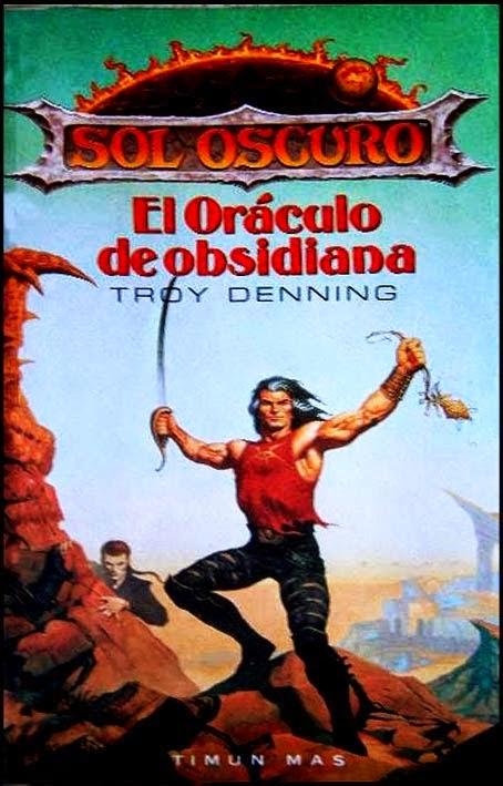 El oráculo de obsidiana de Troy Denning