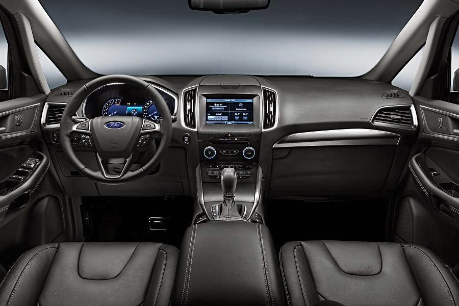 Ford S-Max (2015) Dashboard