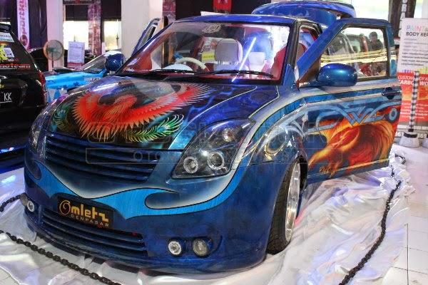 Koleksi Gambar Mobil Suzuki Swift Modifikasi Elegan Terkini 2014