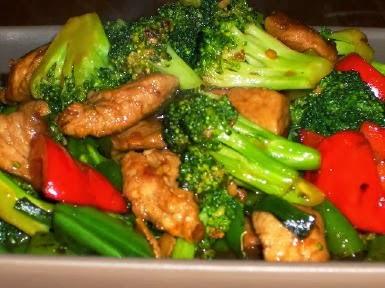 Recipe stir fry pork vegetables