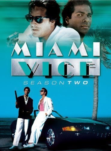 Miami Vice season 2 TV poster