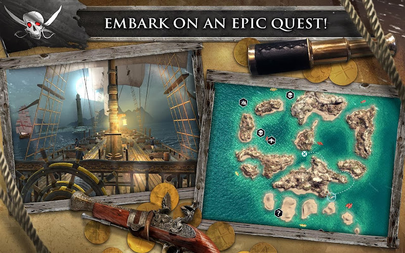 Assassin's Creed Pirates v1.0.3 for Android