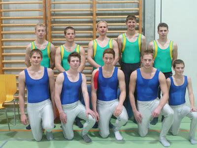 Vorne rechts Patrick Schönholzer K5 und hinten links und rechts aussen Marco Kummer und Simon Traber