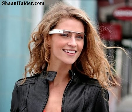 Google Glass Girl - Wearable Technology