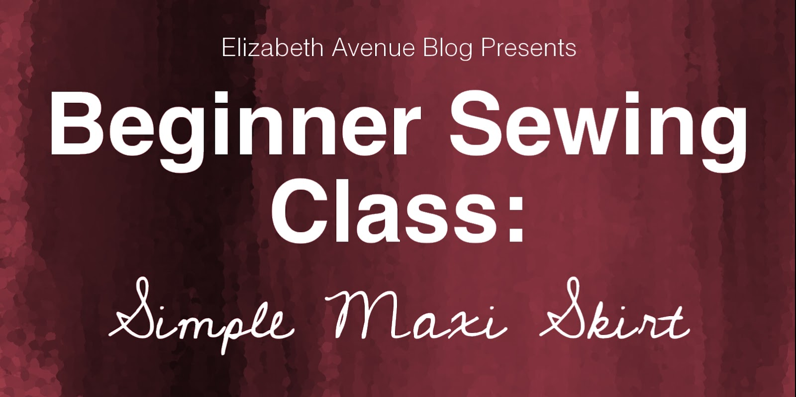 so excited this is finally happening Ive had this class and  Beginner Sewing Classes