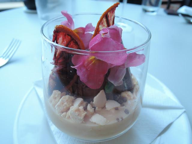 rochford, winery, yarra valley, desserts, sorbet, blood orange, chocolate