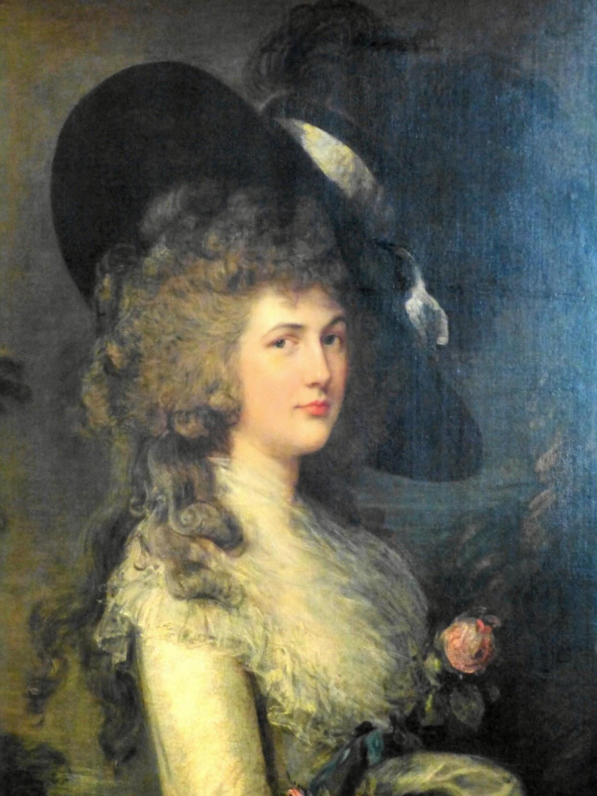 Georgiana, Duchess of Devonshire  by Thomas Gainsborough