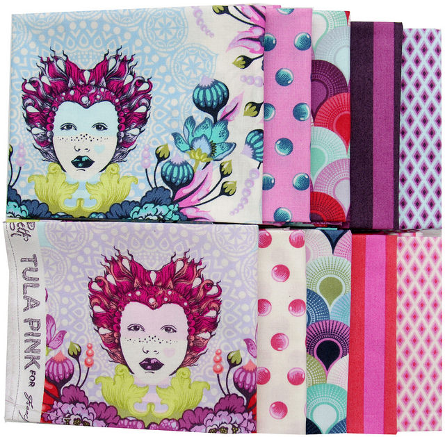 Elizabeth by Tula Pink for Free Spirit Fabric | Red Pepper Quilts