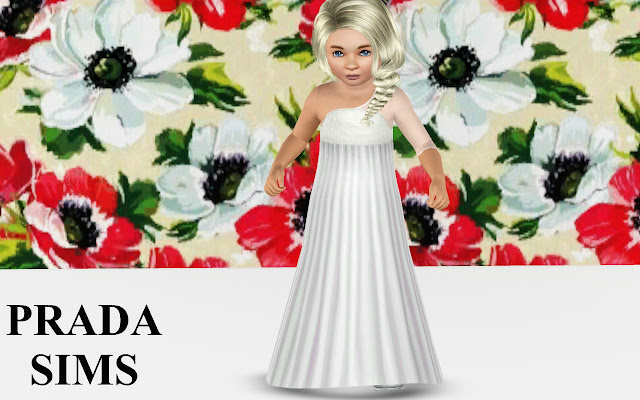 Pradasims: Little Princess Gown for Toddlers Screenshot-246