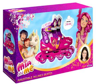 TOYS : JUGUETES - MIA AND ME : Mia y yo  Patines infantiles en línea | Ajustables  Producto Oficial Serie Clan TV | Stamp STAMI180302  Comprar en Amazon España