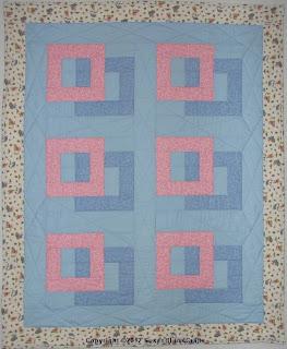 Squares Afloat quilt