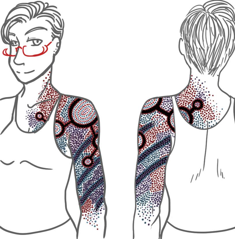 Célèbre 100% Fujoshi: Tattoo RV14