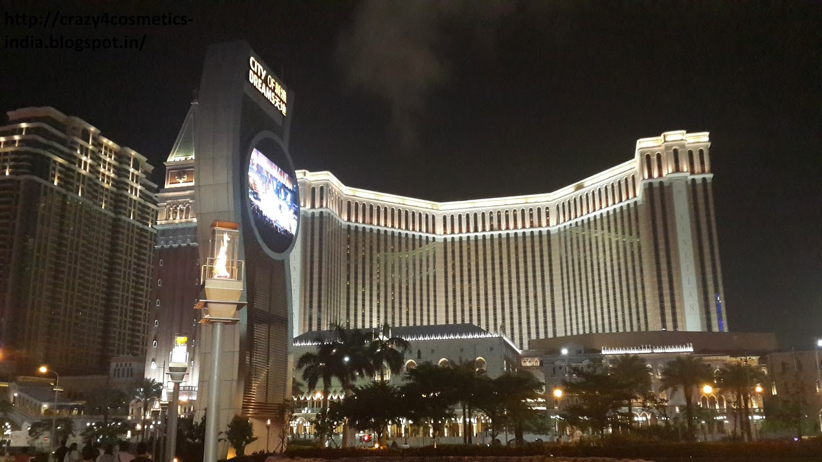Venetian Macau at night