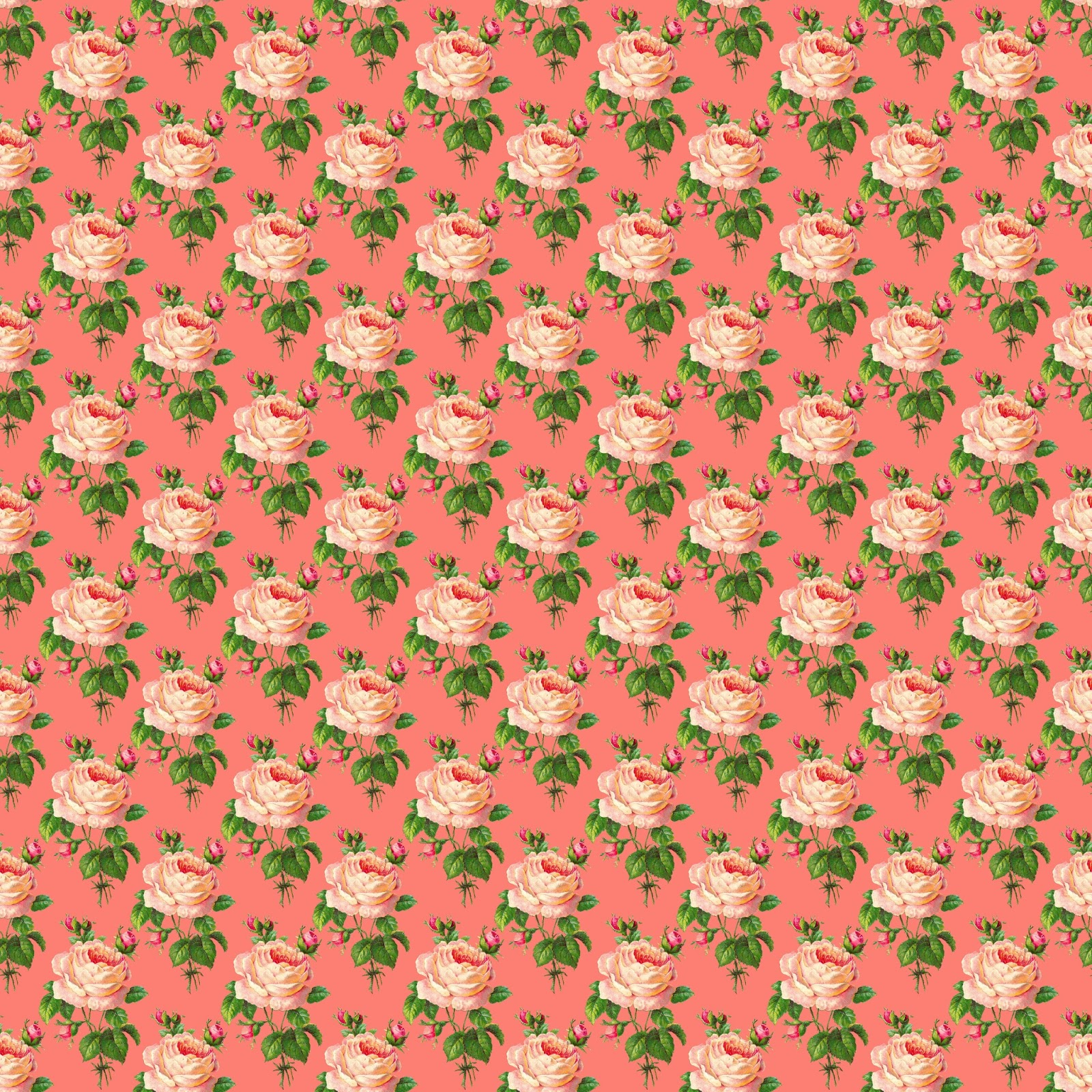 The Graphics Monarch Digital Background Scrapbooking Paper Pink