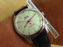 HMT JAWAN WHITE VERTICAL LINE DIAL - MANUAL WINDING