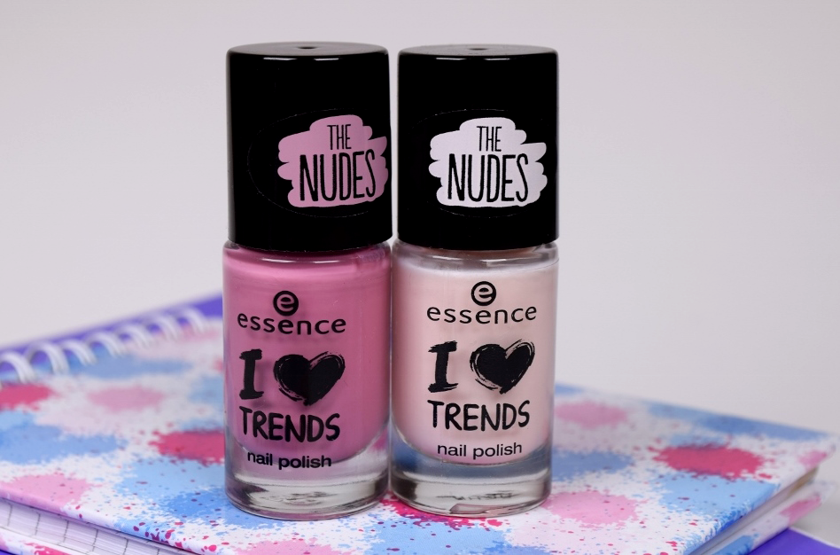 Essence The Nudes Nail Polish Review, Hope for Love, Pure Soul