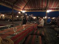 Desert dinner BBQ