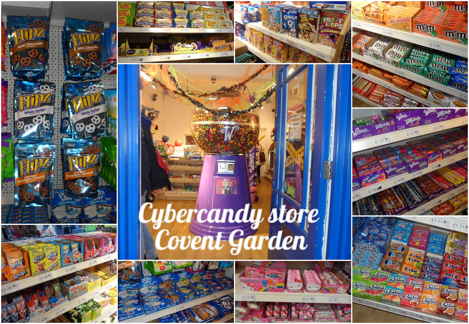 Raiding the pick 39 n 39 mix at cybercandy covent garden by flutter and s - Covent garden magasin ...