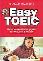 toko buku rahma: buku EASY TOEIC, pengarang slamet riyanto, penerbit pustaka pelajar