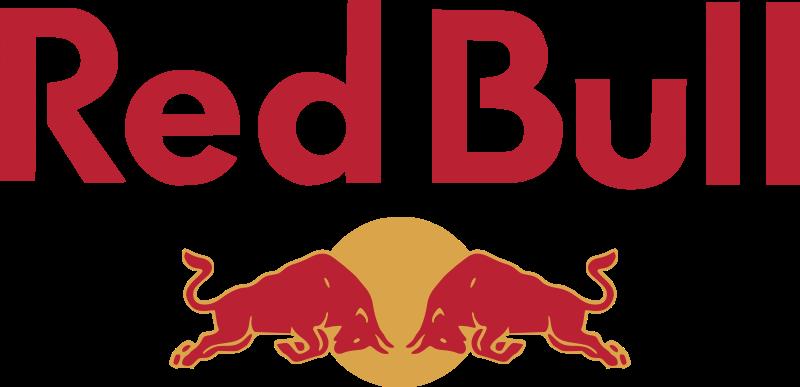Red bull energy drink logo