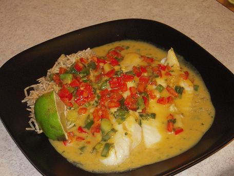 You Want Me to Cook?: Broiled Tilapia with Thai Coconut ...