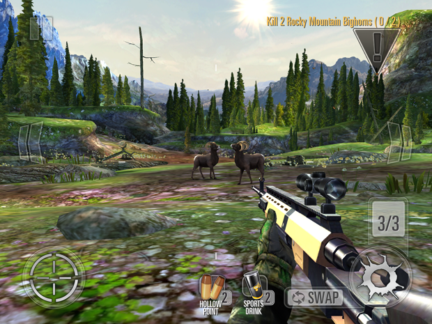Deer Hunter 2014 now available for Android smart phones and tablets after being popular on iOS devices