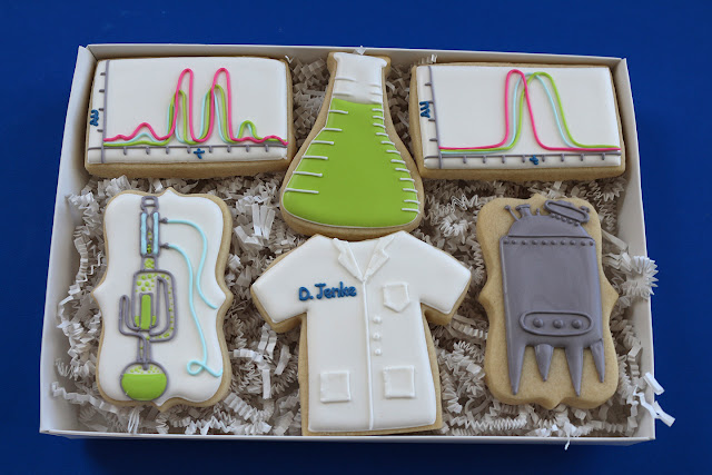 scientist cookie gift