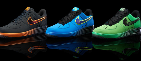 super popular 07c3f 32de4 Three colorways of the Nike Lunar Force 1 Leather will release as a part of  the
