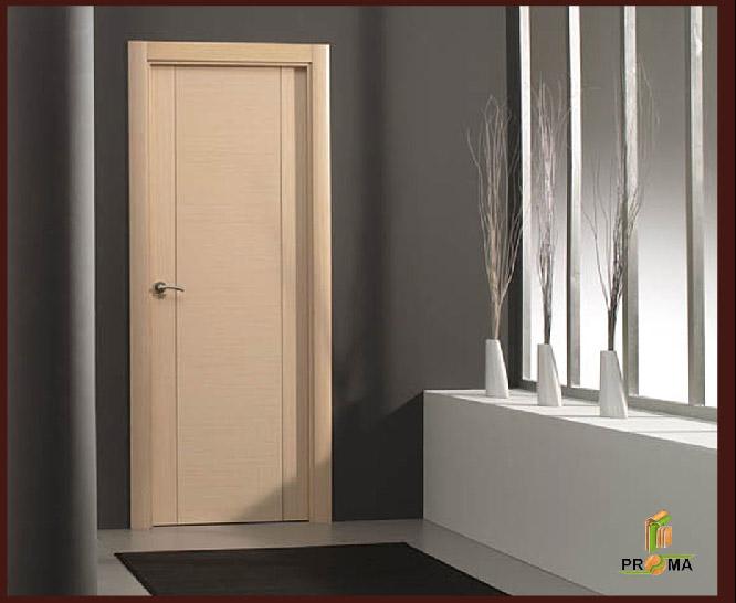 Puerta 7300 en roble decap eco de la serie vega puertas for Puertas de roble interior