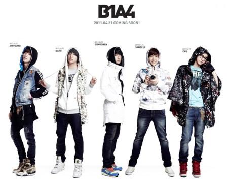Harga Tiket Konser B1A4 Jakarta 2013