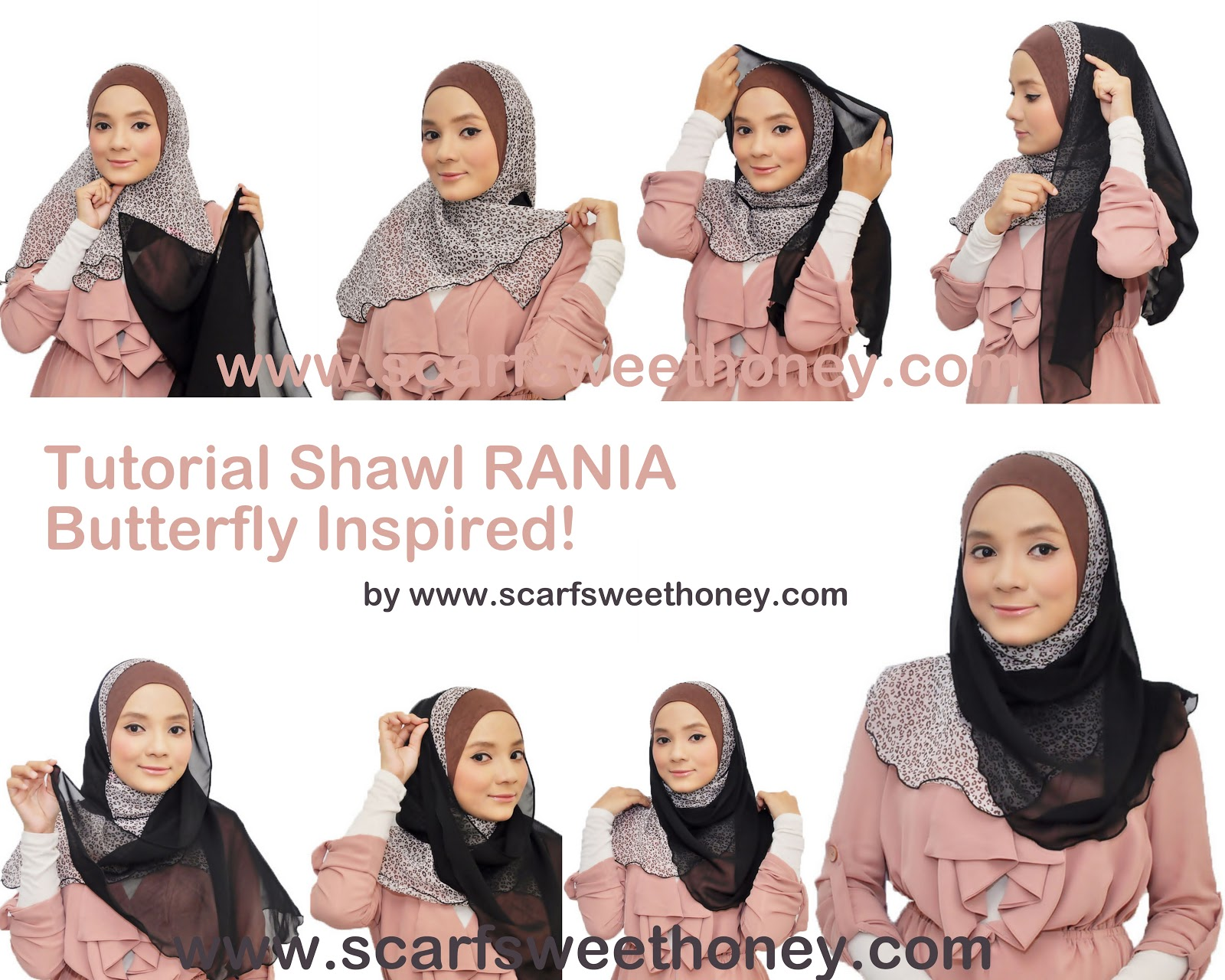 Tutorial Hijab April 2015