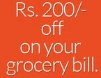 Bigbasket Grocery Products Rs. 200 off