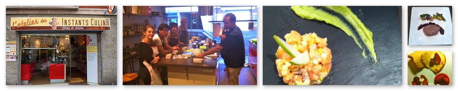 Je cuisine toulouse un cours l 39 atelier des instants for Atelier de cuisine laval