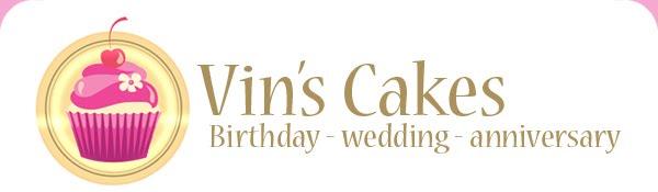 Vin's Cakes - Birthday Cake & Cupcake - Wedding Cupcake - Bandung Jakarta Online Cakes Shop