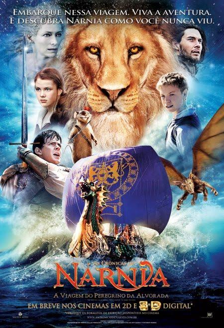 As Crônicas de Nárnia : A Viagem do Peregrino da Alvorada + Legenda