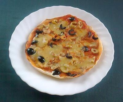 Pizza Vegana de Sarten.