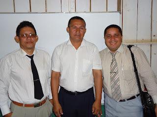 Lindolfo, Mário Peres e Leilson Lima, serao os ministradores das aulas no IBA.