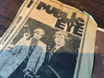 1977 Newspaper Ad for the Original Public Eye