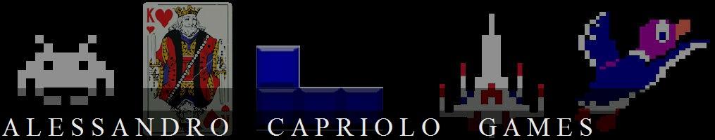 ALESSANDRO CAPRIOLO GAMES